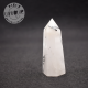 Obélisque Cristal de Roche avec inclusions de tourmaline noire 6