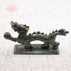 Dragon Feng-Shui en Jade petit modèle
