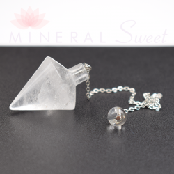 Cristal de Roche Pendule Égyptien