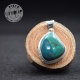 Chrysocolle pendentif argent 5