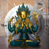 Tara verte bronze