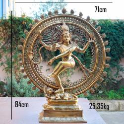 La danse sacrée de Shiva bronze