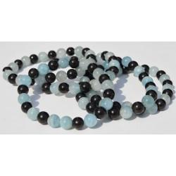 Bracelet Malachite et Shungite KPM02