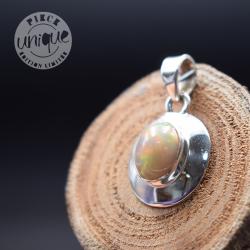 Pendentif Opale Ethiopieenne argent 4