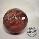 Bois fossile sphère 7