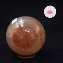Quartz hématoïde sphère 1