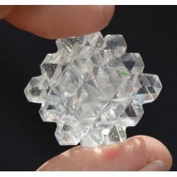 Cube cristal 54 Pyramides