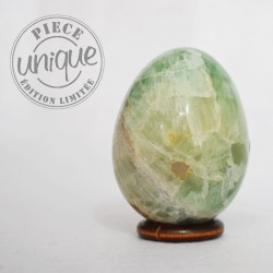 Fluorite verte œuf FLOE1