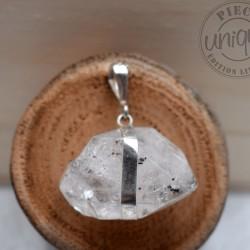 Pendentif Diamant Herkimer CAR01