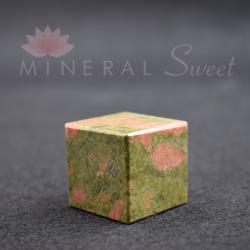 Cube Unakite 3cm