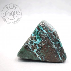 Chrysocolle forme libre 8