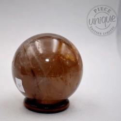 Quartz hématoïde sphère ARM02