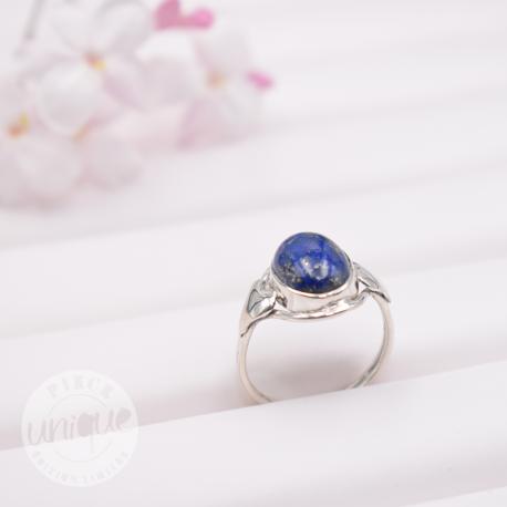 Bague Lapis Lazuli taille: 58