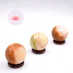 Sphères Onyx Vert