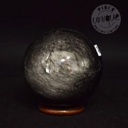 Obsidiana Plateada esfera 2