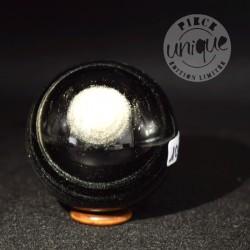 Obsidiana plata esfera 101