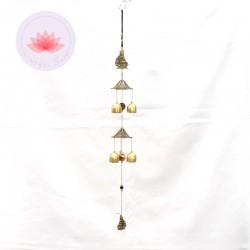 Carillon 6 clochettes Bateau