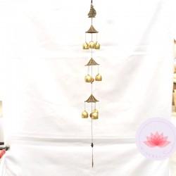 Carillon 9 clochettes Bateau