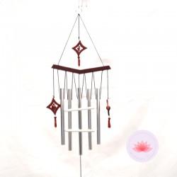 Carillon aluminium étoile