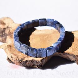 Bracelet Sodalite square 10mm