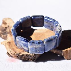 Bracelet Sodalite square 20mm