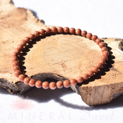 Bracelet Sunny Stone Perles rondes 4mm