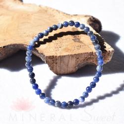 Bracelet Sodalite Perles rondes 4mm