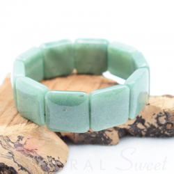 Bracelet Aventurine square 20mm