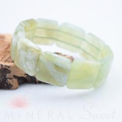 Bracelet Jade square 20mm