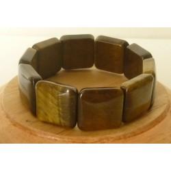 Bracelet Oeil de tigre square 20mm