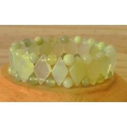 Bracelet Jade losange