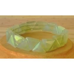 Bracelet Jade triangle