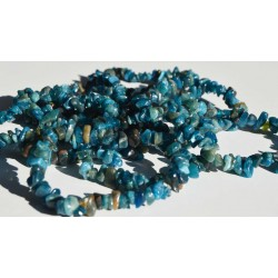 Bracelet Apatite baroque  BBAP