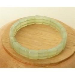 Bracelet Jade square 10mm