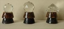 Condensateur Ambre et Shungite + cristaux feng-shui