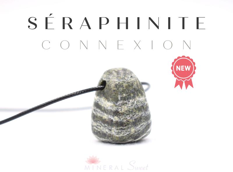 Séraphinite pendentif